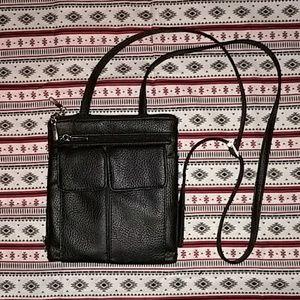 Black bodycross purse